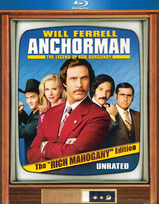 Anchorman - The Legend Of Ron Burgundy (The Rich Mahogany Edition) (Boxset (Dvd)
