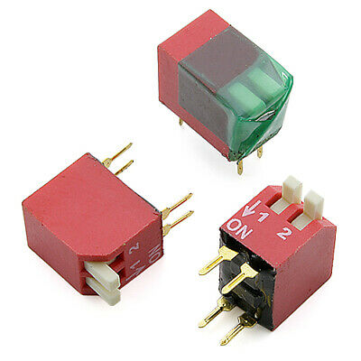 [20pcs] NDP-02TV Piano DIP Switch NO THT DIPRONICS