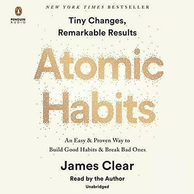 Atomic Habits by James Clear (Audiobook,FAST E-DELIVERY)