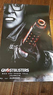 2016 Sdcc Comic Con Ghostbusters Promo Poster With Melissa Mccarthy