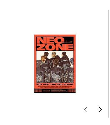 NCT 127 2nd Album Neo Zone [C Ver.] *NO PHOTO CARDS* (freebies Included)