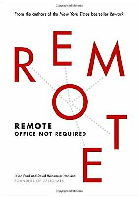 NEW - Remote: Office Not Required