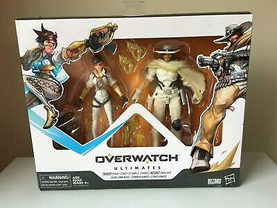 Hasbro Overwatch Ultimates Carbon Series 2-Pack Tracer Mccree SEALED