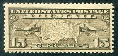 US   C8  Beautiful  Mint  NEVER  Hinged AIR  MAIL  UPTOWN
