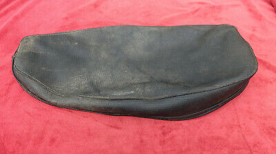 WD UK Made Seat Cover B40 Great Quality BSA C15 Black Piping Black