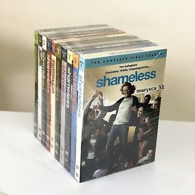 Shameless :The Complete Series Seasons 1-9 (DVD,28-Disc)  Boxed Set New & Sealed