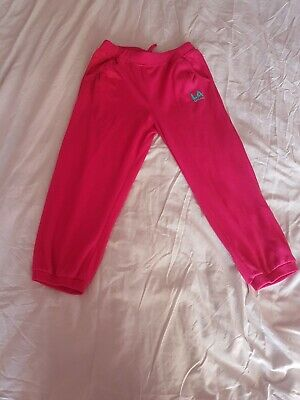 LA Gear cropped three-quarter length joggers age 13
