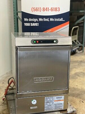 Hobart LXiH High Temp Undercounter Dishwasher Machine 120v/208-240v