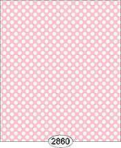 Miniature Dollhouse Wallpaper 1:12 Scale - Cottage Chic - Dot Pink 1 - 2860