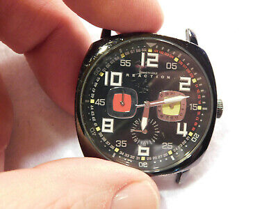 Kenneth Cole Reaction U54-04 NO BAND.  Mens Watch. Working Well.