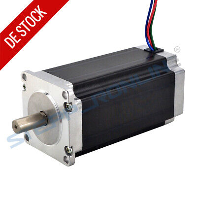 Nema 23 Schrittmotor 3Nm(425oz.in) 4.2A 76mm Länge 10mm Shaft Stepper Motor CNC