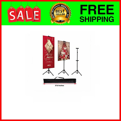 Double-Sided Poster Stand,Floorstanding Sign Stand for Display