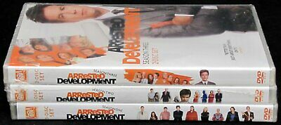 Arrested Development Season 1 2 3 Complete Season DVD 8-Discs Bundle One Two New