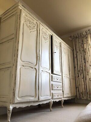 French cream oak Wardrobe