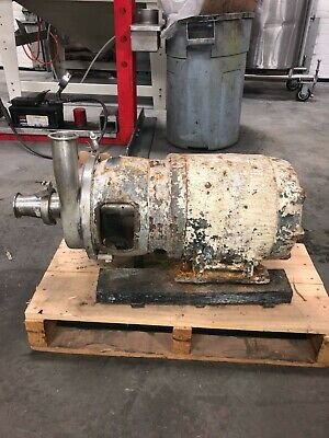 Used Centrifugal Pump, Volts 230/460, HP 7½, 3 phase, RPM 3500