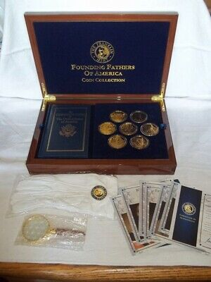 Franklin Mint-The Founding Fathers Of America Coin Collection