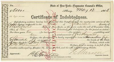 Certificate of Indebtedness