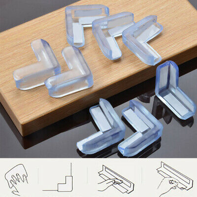 Applied 2//10Pc Clear Baby Safety Corner Guard Bumper Table Desk Edge Cushion Hot