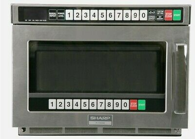 Sharp Commercial Microwave 1900 W / Brand New / 50% off of original price !!!