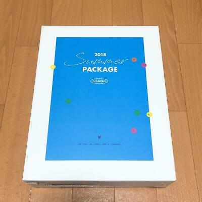 Used BTS official summer package 2018 Rare Limited japan