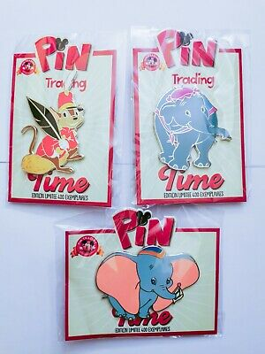 Pins disneyland paris Disney dlp Dumbo pin trading time Timothy Timothee