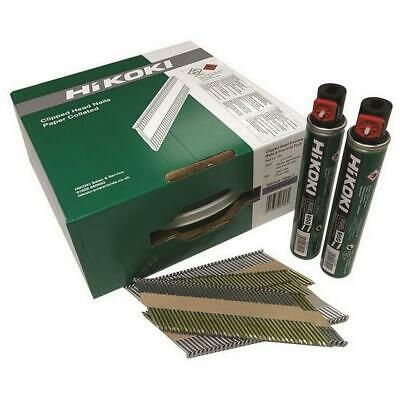Hikoki First Fix Nails With Gas 50Mm X 3.1Mm Galv 3300 1St Fix Collated