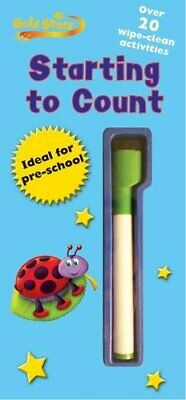 Gold Star - Starting to Count Wipe Clean Practice Book (Gold Stars Wipe Clean Pr