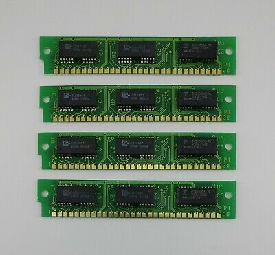 LOT OF TEN 8MB FPM PARITY 70NS SIMM 72-PIN 5V 2X36