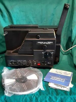 Vintage Chinon 7800H Sound Film Projector Working in Box Super 8