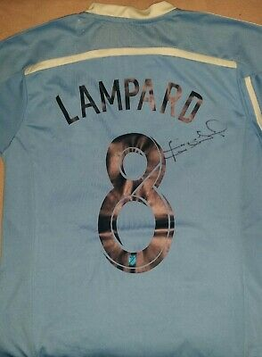 Frank Lampard Autograph New York City Hand Signed Mls Soccer Jersey Chelsea