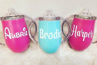 Personalised Baby/Toddler Non Spill Sippy Cup