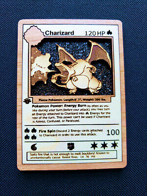 Glurak Custom Pokemon Card Gerritsen Charizard