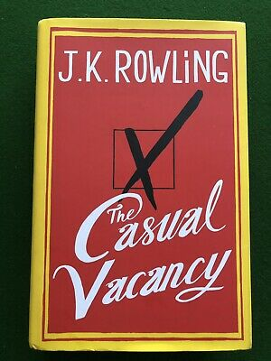 Jk Rowling Personally Signed Hardback Book