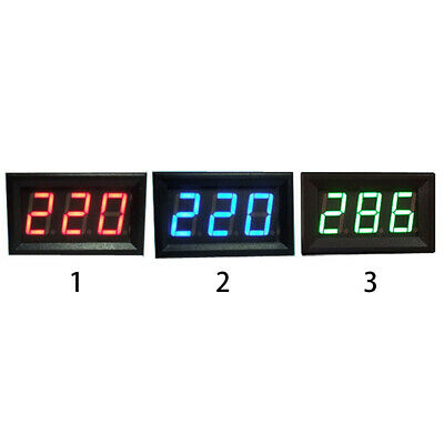 AC70v-500v Led Digital Display Professional Decimals Accurate Voltmeter Head