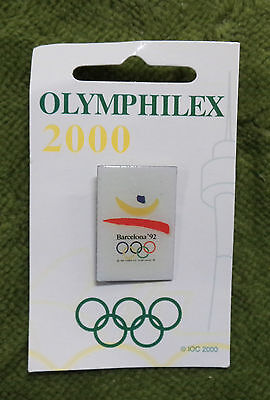 #P192. Olympic 2000 Olymphilex   Exhibition Pin - Barcelona 1992