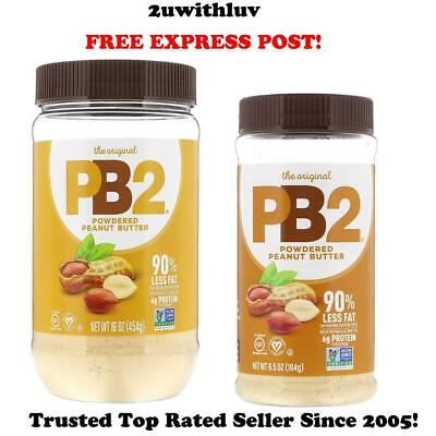 "Pb2 Original Natural Powdered Peanut Butter Gluten Free ""Free Express Post"""