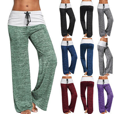 UK Womens Summer Joggers Trousers Ladies Tracksuit Bottoms Gym Pants Lounge Wear