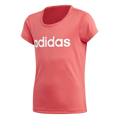 adidas Performance Kinder Freizeit T-Shirt Youth Girls Cardio T-Shirt core pink