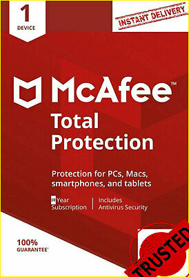 Download McAfee Total Protection 2020 Antivirus 🔥 1 Device 10 Years 🔥