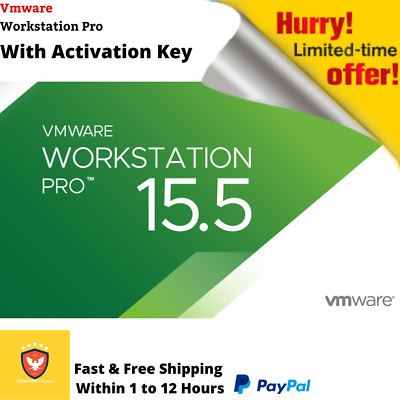 Vmware Workstation 15.5 Pro 🔑Lifetime Keys🔑Official 2019 🔥Fast Delivery🔥
