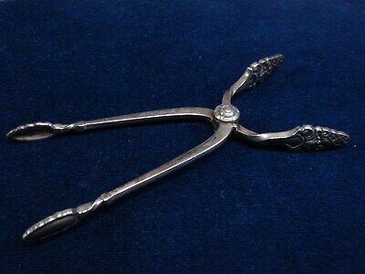 Gorham Sterling Silver Sugar Tongs Sovereign Pattern Spring Action  4 1/8''