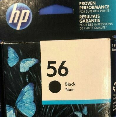 HP #56 C6656AN Black Ink Cartridge Genuine New