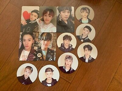 NCT NEO zone official photocards taeyong jungwoo Mark yuta