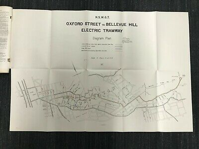 1902 Tramway from Oxford Street to Bellevue Hill M692