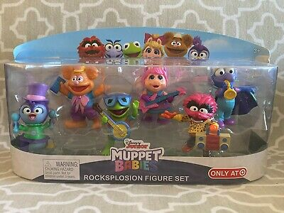 DISNEY MUPPET CHARACTER Figure Fozzie Bear with Magic Wand