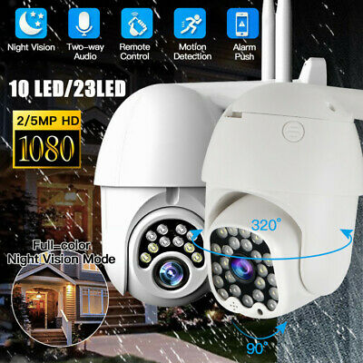 1080P WIFI Outdoor Smart CCTV IR Camera IP HD Security Night Vision Wireless