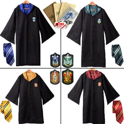 Harry Potter Serpentard Cravate Halloween Carnaval Costume de Cosplay Fête FR