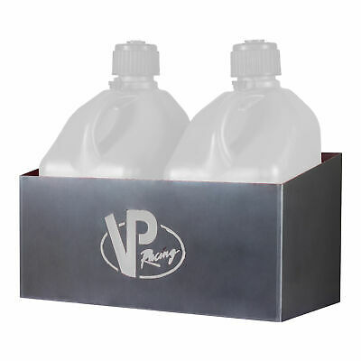 VP Racing Fuels 3050 Aluminum 2 Jug Storage Rack for 5 Gal Motorsport Containers