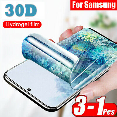 30D For Samsung S20 Ultra Plus A51 A71 Soft Hydrogel Full Screen Protector Film