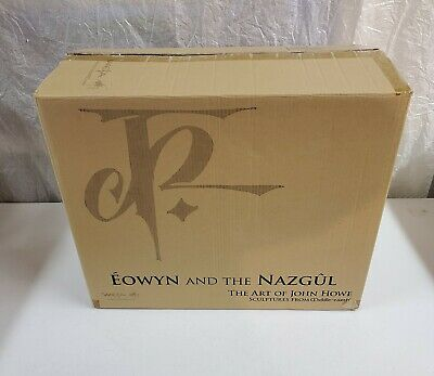 Weta Lord Of The Rings Eowyn And The Nazghul Faux Bronze Statue 30/200 Rare!!